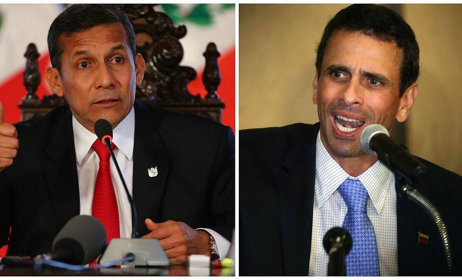 Henrique Capriles: Ollanta Humala busó excusa para no atenderme