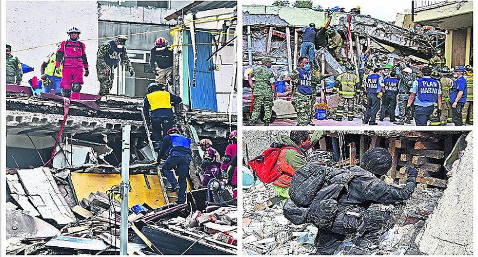 Terremoto en México: rescatistas no paran y buscan sobrevivientes