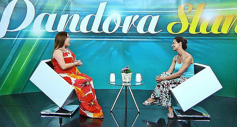 ¡Maricielo Effio  contó sus alegrías y sueños en Pandora Slam