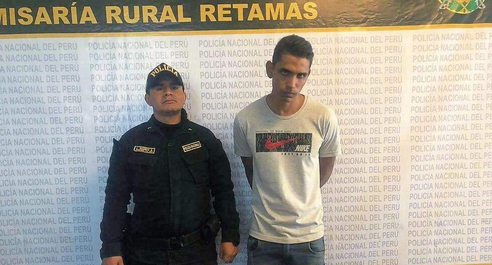 El ciudadano venezolano se resistió a ser intervenido, según los agentes que lo capturaron. (Foto: PNP)