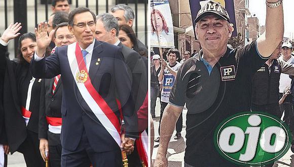 """Daniel Urresti tras anuncio de Martín Vizcarra: """"¡Se van todos! ¡Adiós fujiaprismo!"""""""