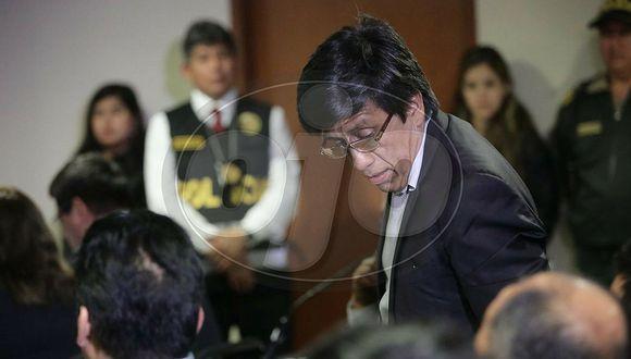 Antonio Camayo pide llevar las investigaciones libre y niega intención de fugarse