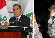 Ministro de Defensa en contra de la agresión a joven por un militar durante el toque de queda | VIDEO