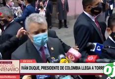 "Iván Duque sobre cambio de Constitución: ""tiene que ser producto de un consenso nacional"" | VIDEO"