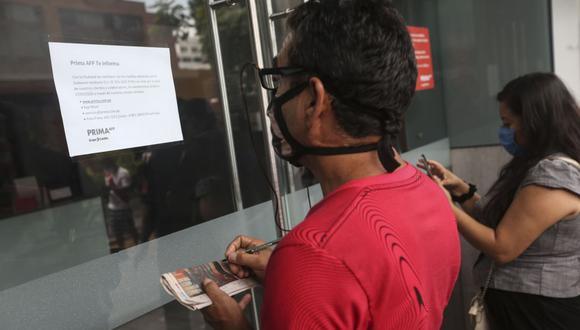 No olvides que la fecha para poder acceder al retiro de hasta 4 UIT vence el próximo 24 de agosto, pero se estableció un orden. (Foto: Andina)