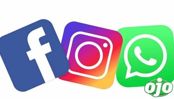Se cayeron Facebook, Instagram y WhatsApp. Foto: (redes sociales).