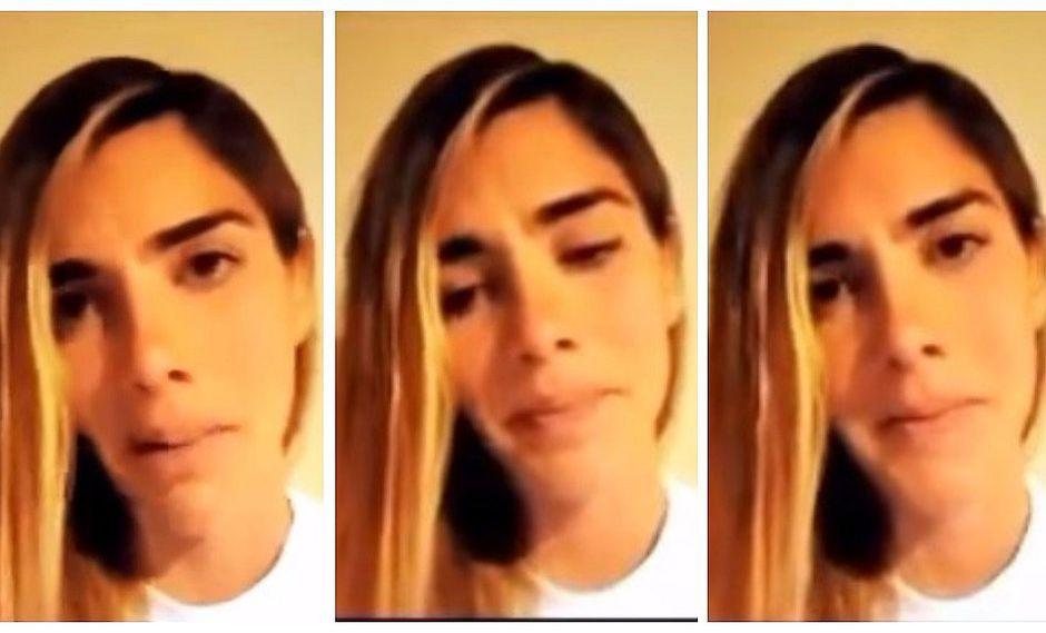 Korina Rivadeneira llora y habla desde la clandestinidad (VIDEO)