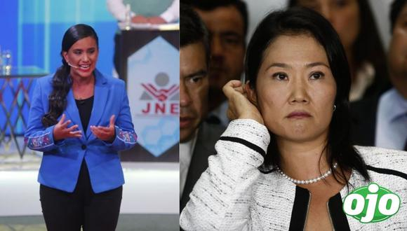 """Verónika Mendoza contra Keiko Fujimori: """"buscan desconocer el resultado electoral, generar caos""""  (Foto: Anthony Niño de Guzmán/GEC)"""