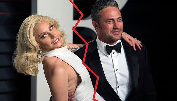 Lady Gaga se 'toma un tiempo' y termina con Taylor Kinney