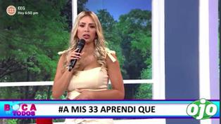 "Sheyla Rojas: ""No me arrepiento de nada"" 