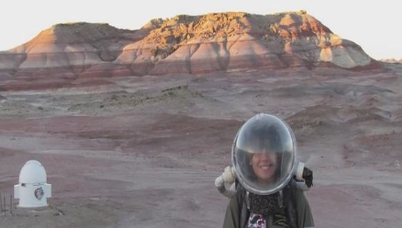 NASA: Peruana expondrá en el The Mars Society su viaje a Marte [VIDEO]