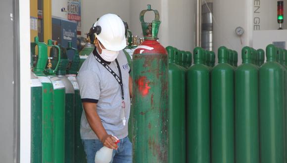 Lambayeque: COER entregará oxígeno medicinal gratuito a 30 personas por día (Foto: Gore Lambayeque)