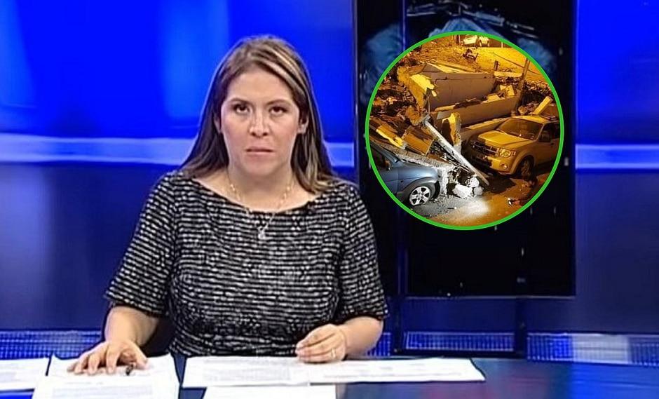 Yeni Vilcatoma publica foto de terremoto en Chile y dice que son daños en Loreto|FOTO