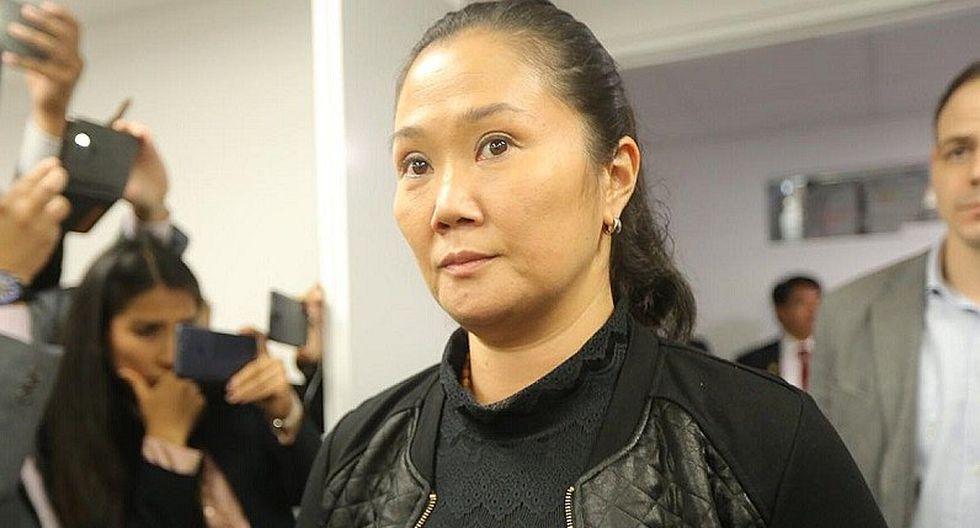 Keiko Fujimori salió libre el viernes 29 de noviembre, un días después de la publicación del fallo del TC. (Foto: GEC)