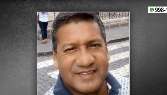 El vigilante que resguardaba vehículo que distribuía artículos de belleza fue asesinado en Comas. (Foto: Captura América Noticias)