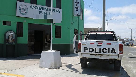 Policía deja auto al costado de comisaría, pero delincuentes igual se lo roban