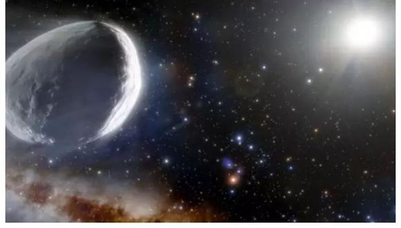 El cometa 2014 UN271 podría tener hasta 150 kilómetros de diámetro.