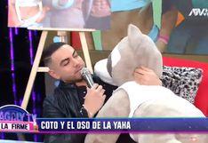 Coto Hernández recreó cómo fue su video con Yahaira Plasencia en la intimidad de su hogar │VIDEO