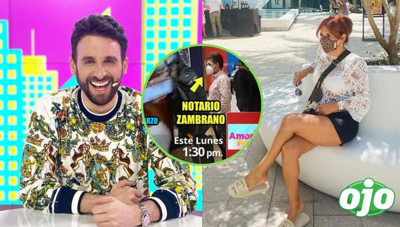 Fotos: Instagram Rodrigo González | Instagram Magaly Medina | Willax Televisión