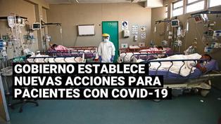 Conoce cuáles son las nuevas acciones para los pacientes con COVID-19