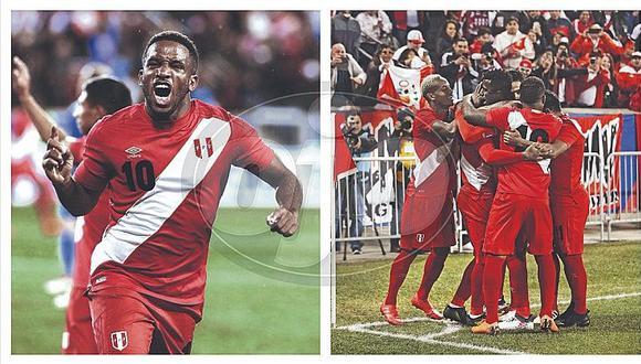 Selección peruana vence 3-1 a Islandia en estadio de hinchas peruanos que armaron la fiesta (FOTOS)