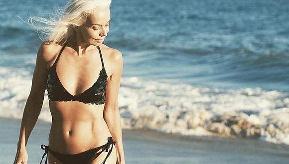 Conoce a la modelo de 60 años más sexy del mundo (y sin cirugías)