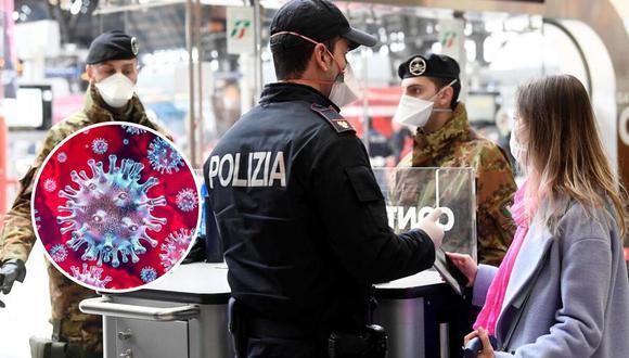 Italia afectado por el coronavirus