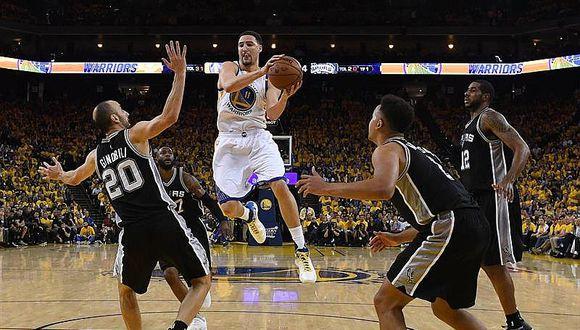 NBA: Victoria histórica de Warriors sobre Spurs sigue dando qué hablar