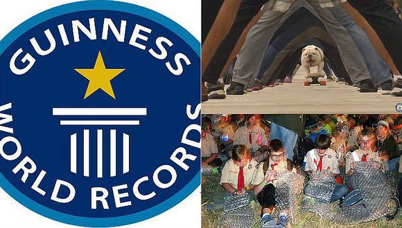 Récord Guinness: Conoce las 10 proezas más extrañas del año pasado
