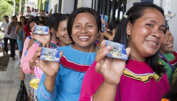 Más de 600.000 hogares a nivel nacional forman parte de la lista de beneficiarios del programa Juntos. (Foto: Andina)