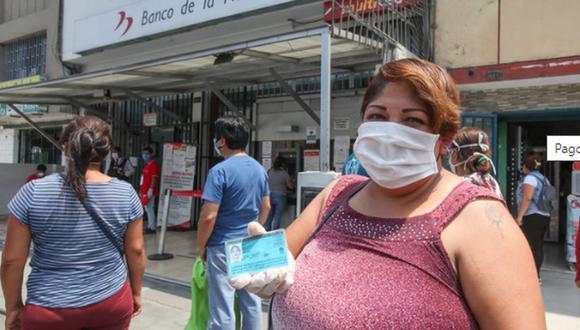 La Cuenta DNI es una cuenta 100% virtual del Banco de la Nación, que en una primera etapa permitirá que más de 700 000 beneficiarios reciban y dispongan del BFU. (Foto: Andina)