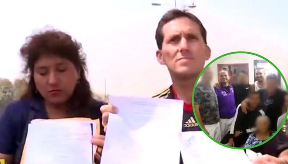 Acusan a tío de Juan Manuel Vargas de no pagar por más de dos años el alquiler de su vivienda (VIDEO)
