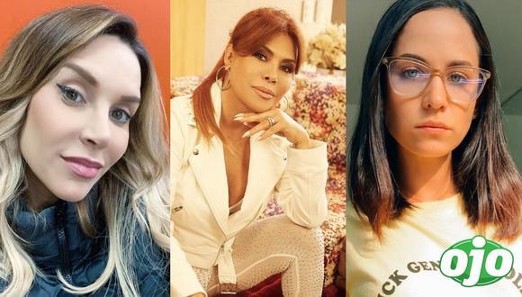 Fotos: Instagram Juliana Oxenford | Magaly Medina | Sigrid Bazán