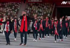 Tokio 2020: Así fue el desfile de la delegación peruana en los Juegos Olímpicos
