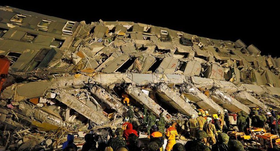 Taiwán: Así quedaron los edificios tras fuerte terremoto  [FOTOS]