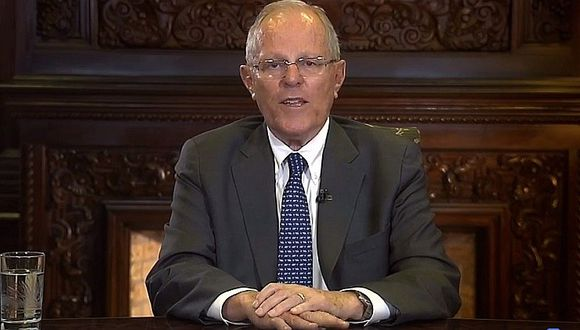 """PPK en mensaje a la Nación: """"Nuestra democracia permanece en pie"""" (VIDEO)"""