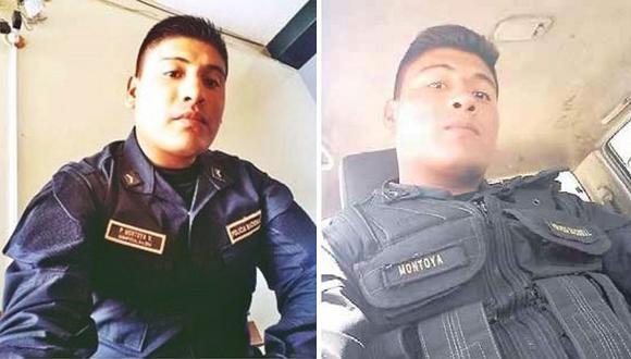 Policías detienen a su colega por robo a mano armada