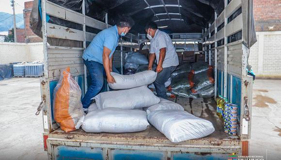 Huánuco: damnificados por inundaciones recibieron 3 toneladas de ayuda humanitaria (Foto: Gore Huánuco)