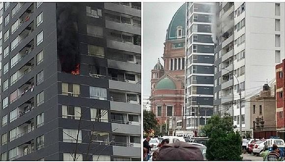 Magdalena: Incendio consume parte de un edificio