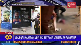 Delincuentes asaltan barbería y balean a un peluquero por poner resistencia