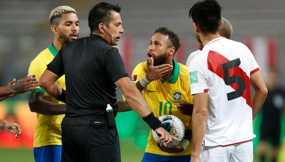 Brasil venció por 4-2 a Perú por la fechas 2 de las Eliminatorias rumbo a Qatar 2022. (Fuente: AFP)