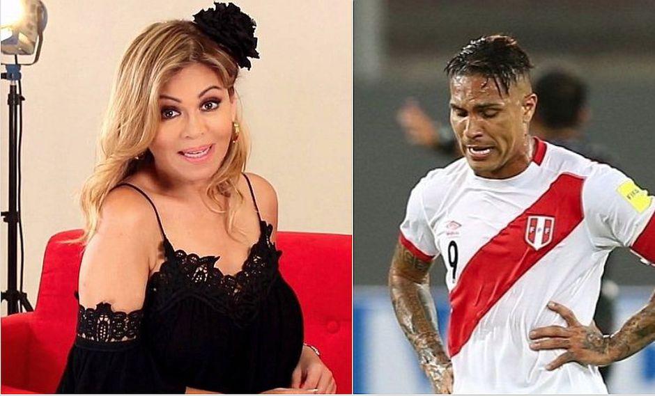 "Gisela Valcárcel a Paolo Guerrero: ""Le pido a Dios que no te corten las alas"""