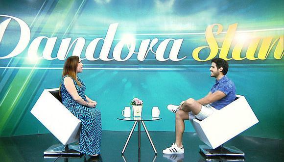 ¡Lindo! Andrés Vílchez abrió su corazón en el set de Pandora Slam