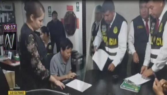 PNP y Ministerio Público desbaratan la organización criminal Los Topos del Frío dedicada a la minería ilegal. (Captura: Canal N)