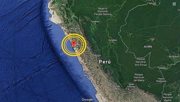 Áncash: sismo de 4.2 grados remece Chimbote