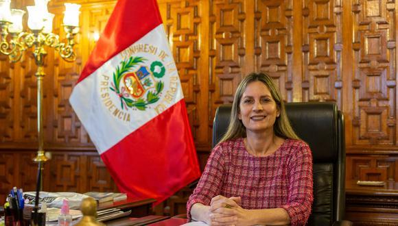 """Mi formación familiar y partidaria es de respeto a la Democracia y a la Constitución"""", señaló Maria del Carmen Alva. (Foto: GEC)"""