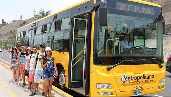 Metropolitano: hoy inicia el servicio a la Costa Verde por verano 2019