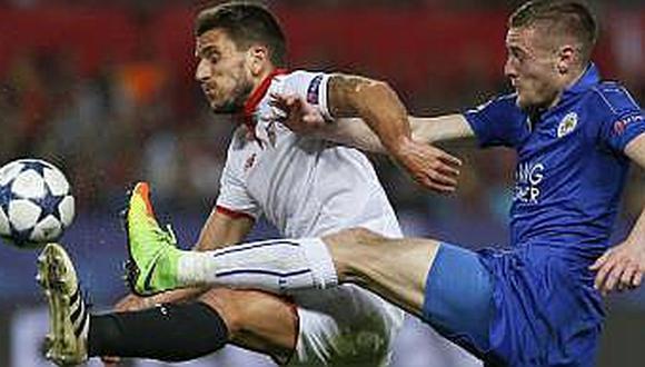 Liga de Campeones: Sevilla enfrenta a un Leicester que sí quiere ganar