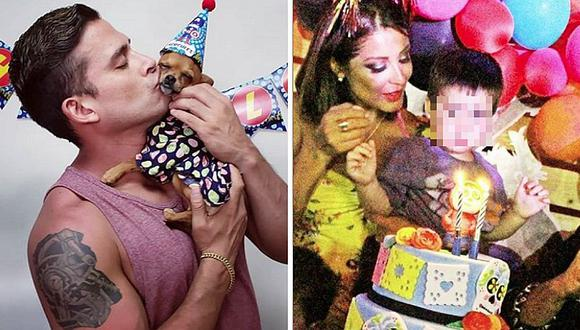 Chistian Domínguez festeja cumpleaños de su perro, pero no asiste al de su hijo (VIDEO)