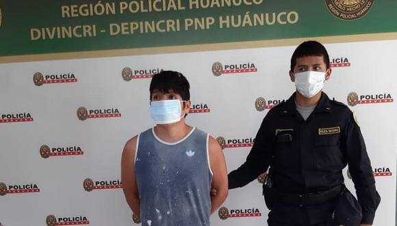 El sujeto, según la Fiscalía de Huánuco, había amenazado de muerte a su víctima para que no lo delate. (Foto: Diario Ahora)